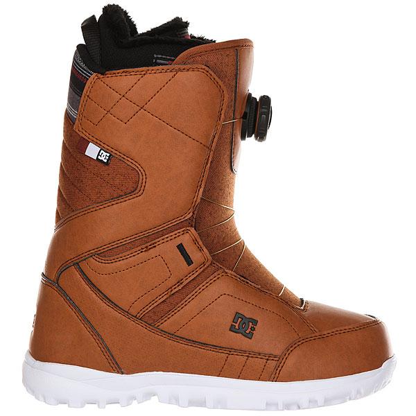 Ботинки для сноуборда женский DC Search Boax Brown