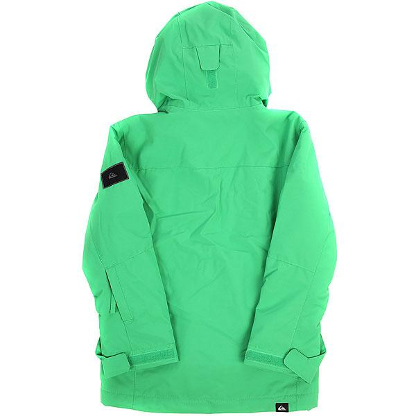 Куртка утепленная детская Quiksilver Miss Sol You Kelly Green
