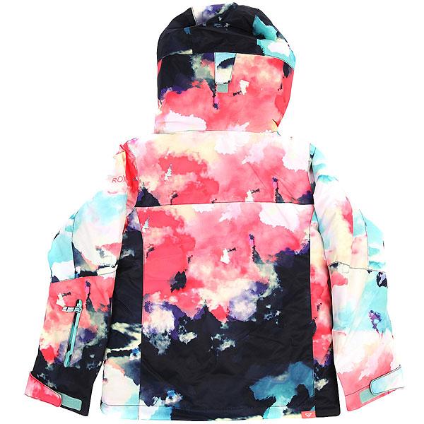 Куртка утепленная детская Roxy Jet Girl Neon Grapefruit