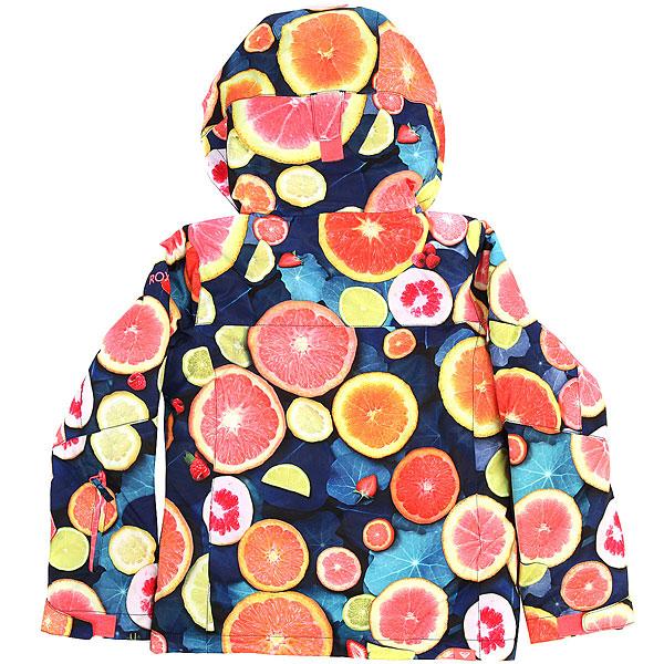 Куртка утепленная детская Roxy Jet Girl Lemon Tonic