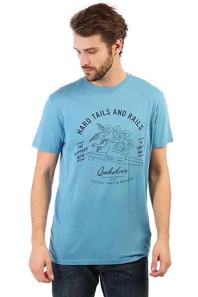 Футболка Quiksilver Garmtehardtails Cendre Blue