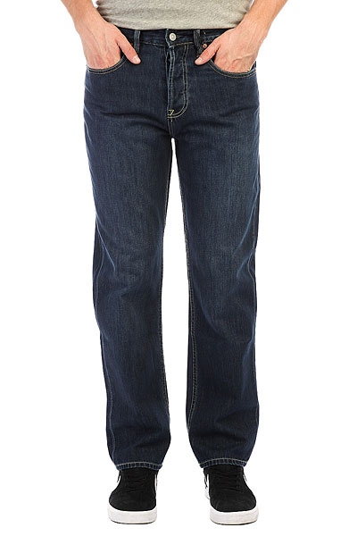 Джинсы широкие DC Worker Relaxed Stone Wash