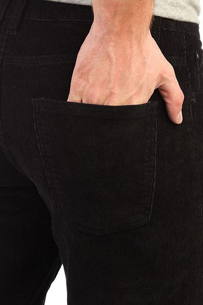 Джинсы прямые Quiksilver Cordedsurfpant Black