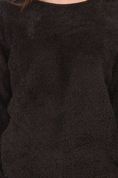 Толстовка утепленная женская Billabong First Game Off Black