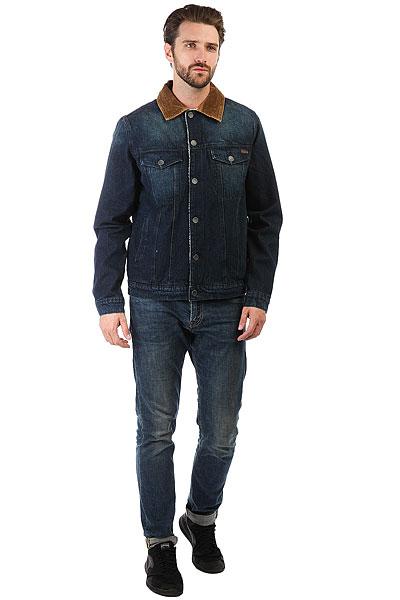 Куртка джинсовая Billabong Barlow Trucker Indigo Deep Sea