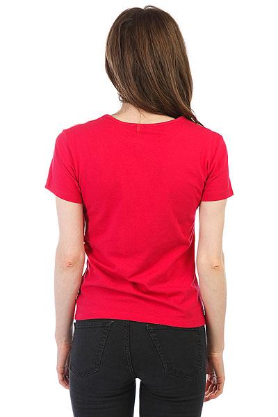 Футболка женская Roxy Taffycrabmounta Persian Red