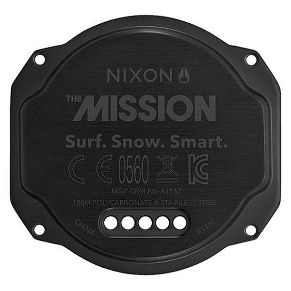Кварцевые часы Nixon Mission Orange/Gray/Black