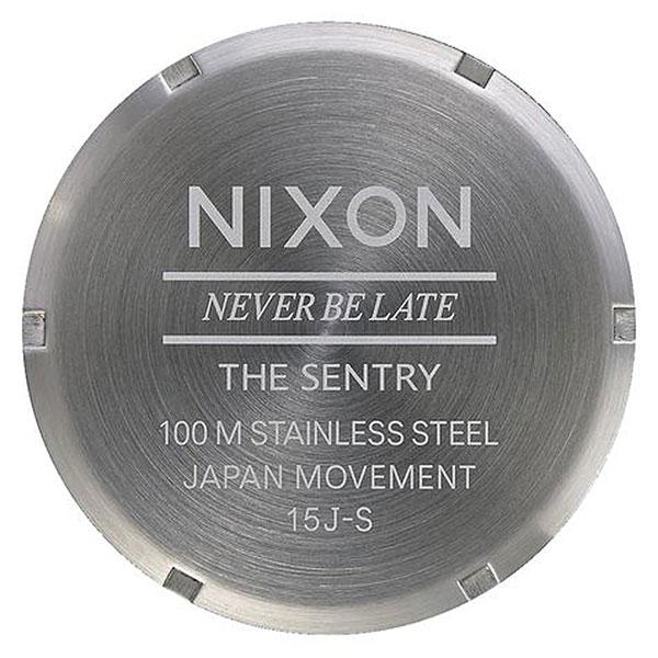Кварцевые часы Nixon Sentry Pack White/Brown/Tan