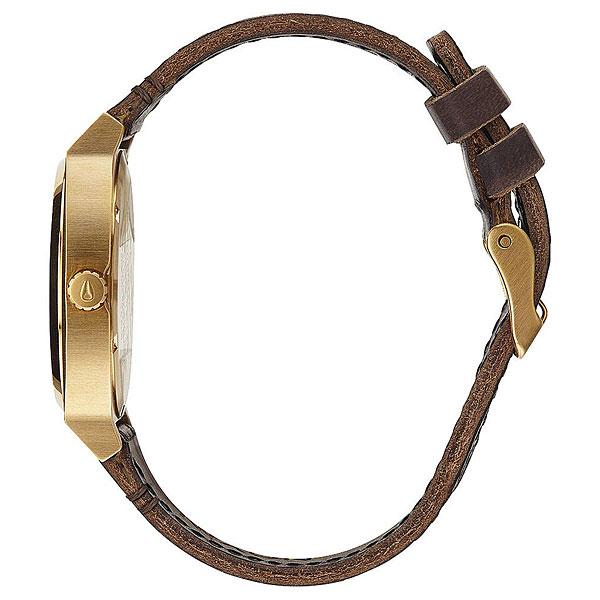 Кварцевые часы Nixon Time Teller Pack Gold/Black/Brown