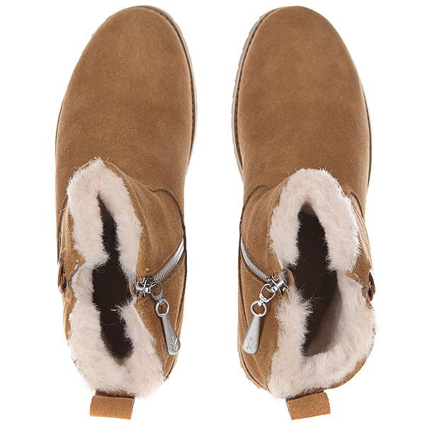 Ботинки зимние женские Emu Beach Mini Chestnut