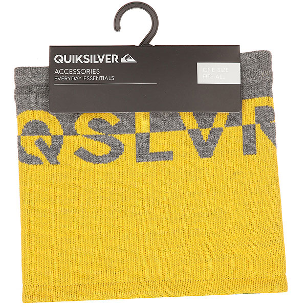 Шарф труба Quiksilver Knox Collar Grey Heather