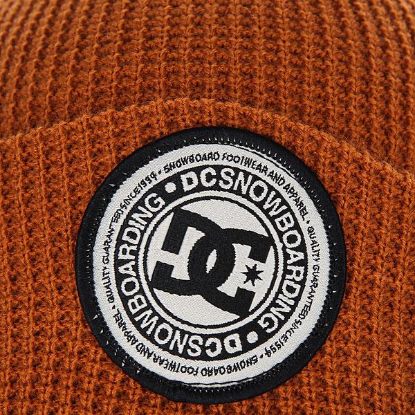 Шапка DC Neesh Leather Brown