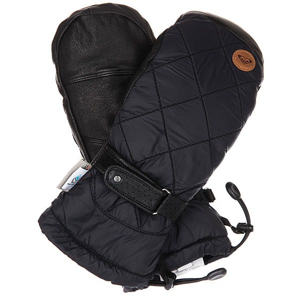 Купить Варежки сноубордические женские Roxy Victoria Mitt True Black 1186066