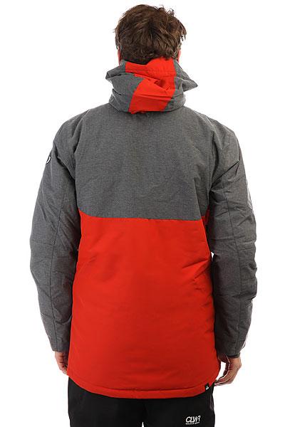 Куртка утепленная Quiksilver Sierra Ketchup Red