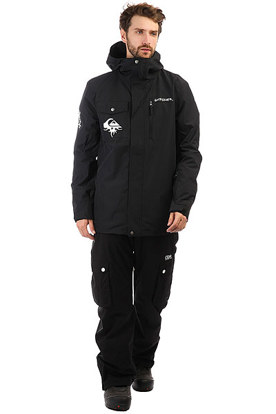 Куртка Quiksilver Mission Art Black