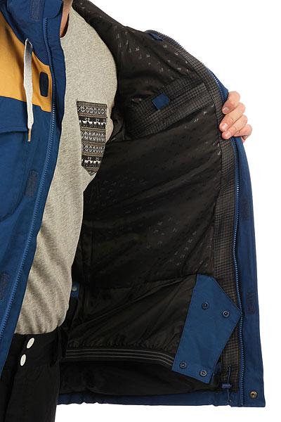 Куртка утепленная Quiksilver Raft Estate Blue