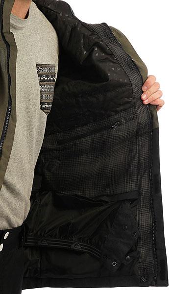Куртка утепленная Quiksilver Horizon Grape Leaf