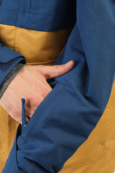 Куртка утепленная Quiksilver Horizon Estate Blue