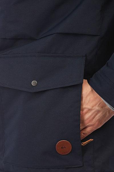 Куртка парка Quiksilver Canyon Navy Blazer