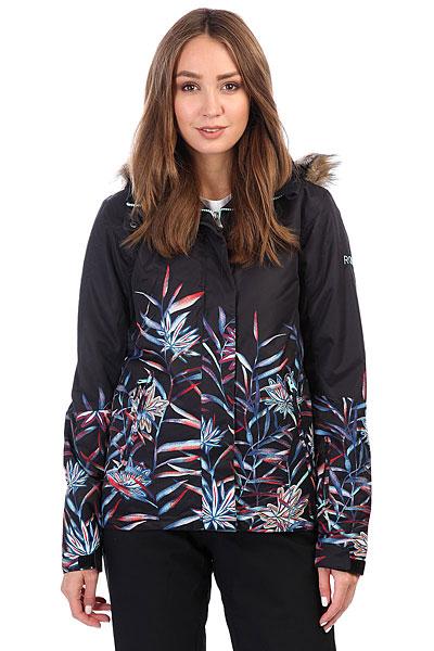 Купить Куртка утепленная женская Roxy Jet Ski Se True Black_garden 1186150