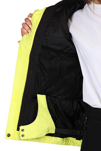 Куртка утепленная женская Roxy Jet Ski Sol Lemon Tonic_gana Emb