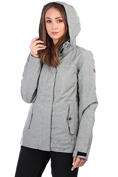 Куртка утепленная женская Roxy Billie Heritage Heather