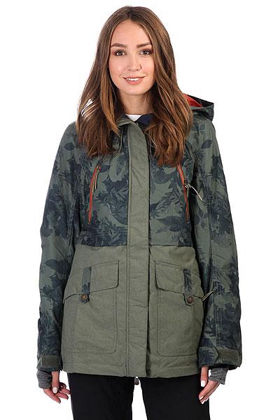 Куртка женская Roxy Tribe Dusty Ivy_sylvan