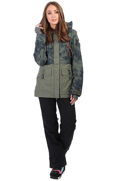 Куртка утепленная женская Roxy Tribe Dusty Ivy_sylvan