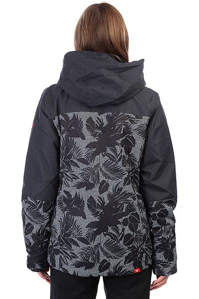 Куртка утепленная женская Roxy Rx Jetty Blo True Black_floral