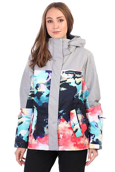 Куртка утепленная женская Roxy Rx Jetty Blo Neon Grapefruit_clou