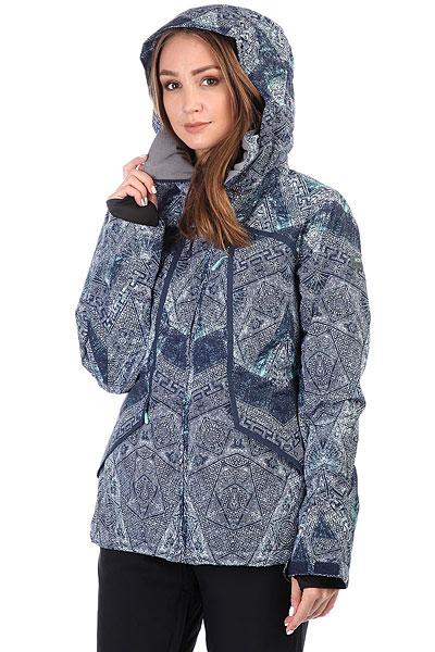 Куртка утепленная женская Roxy Wildlife Peacoat_avoya