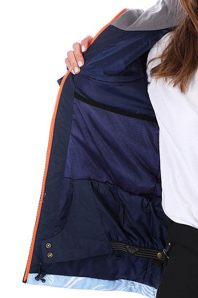 Куртка женская Roxy Wildlife Mandarin Orange_pop