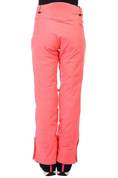 Штаны сноубордические женские Roxy Montana Neon Grapefruit
