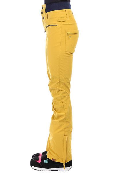 Штаны сноубордические женские Roxy Tb Rise Up Green Sulphur