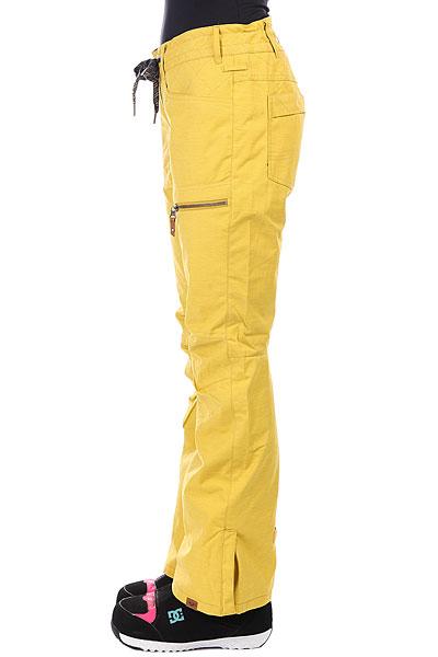 Штаны сноубордические женские Roxy Rifter Green Sulphur