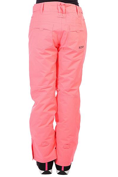 Штаны сноубордические женские Roxy Backyard Neon Grapefruit