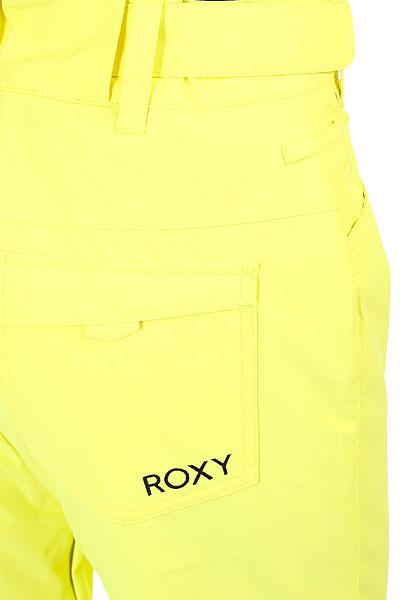 Штаны сноубордические женские Roxy Backyard Lemon Tonic