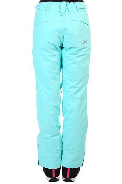 Штаны сноубордические женские Roxy Winteblack Rinseeak Aruba Blue