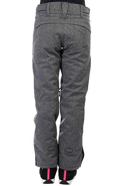 Штаны сноубордические женские Roxy Winteblack Rinseeak Herringbone Grey