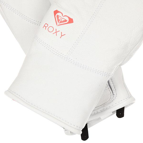 Варежки женские Roxy Premiere Bright White