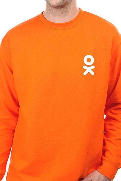 Свитшот Одноклассники Logo Оранжевый