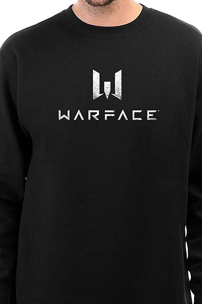 Свитшот Warface Logo Черный