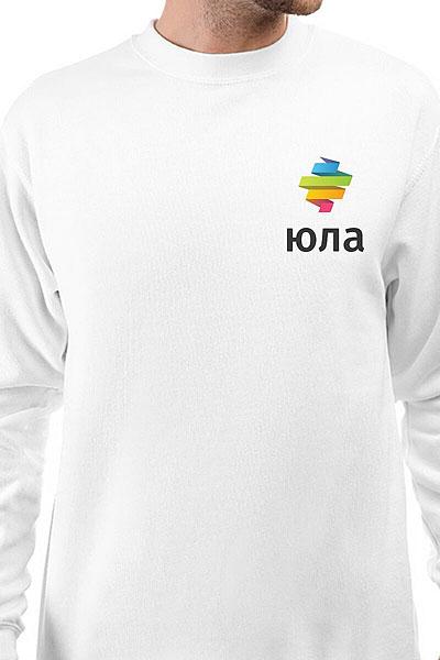 Свитшот Юла Logo Белый