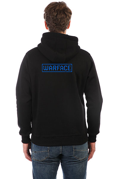 Толстовка Wearcraft Premium Warface Wings Черная