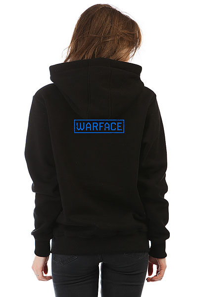 Толстовка Wearcraft Premium Женская Warface Wings Черная