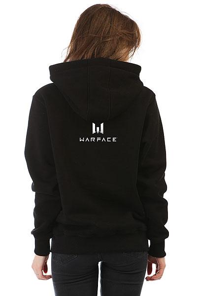 Толстовка Wearcraft Premium Женская Warface Skull Черная