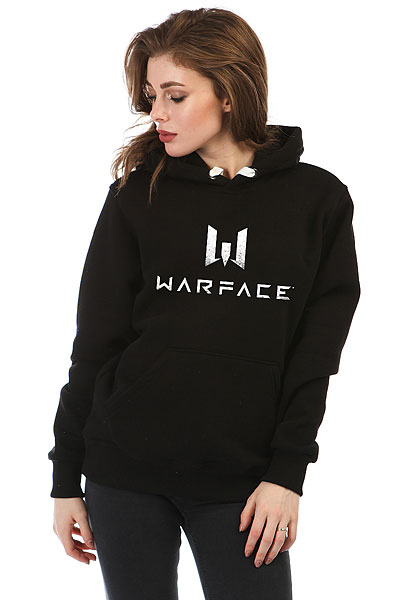 Толстовка Wearcraft Premium Женская Warface Logo Черная