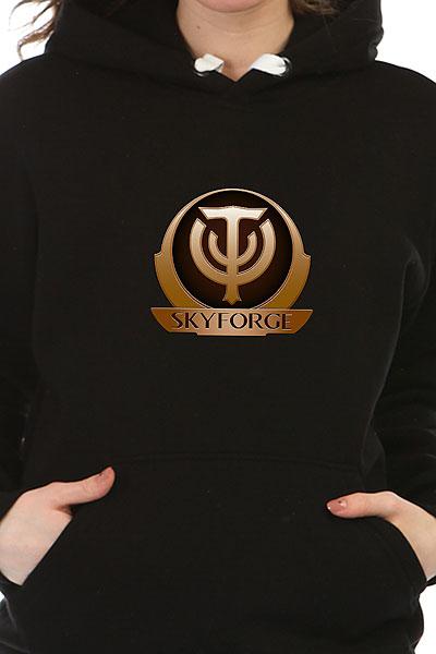 Толстовка Wearcraft Premium Женская Skyforge Logo Черная