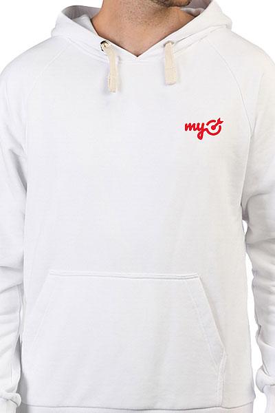 Толстовка Wearcraft Premium Mytarget Logo Белая