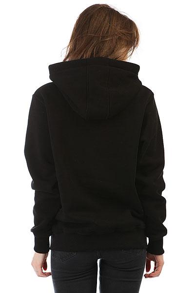 Толстовка Wearcraft Premium Женская Icq Fckdog Черная
